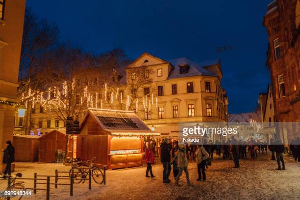 Christmas market in Weimar, Germany