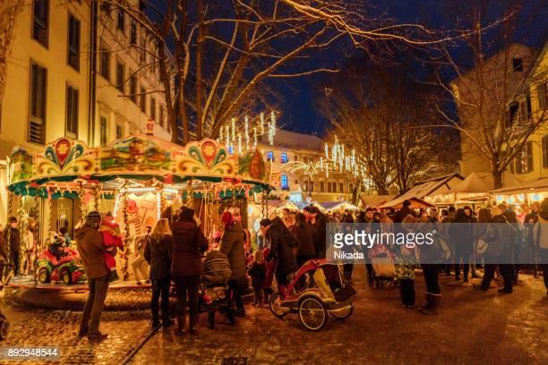 Weihnachtsmarkt in Weimar, Deutschland