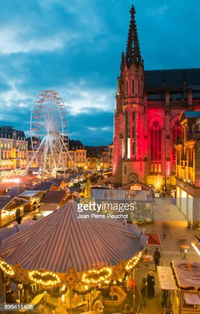 Christmas market Mulhouse France