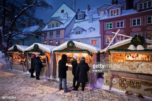 Christmas Market on The Livu square