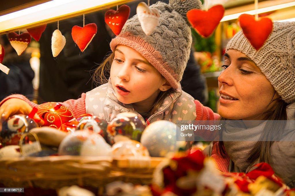 Christmas market : Stock Photo
