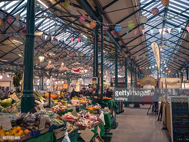 christmas market,blefast,northern ireland - belfast stock pictures, royalty-free photos & images