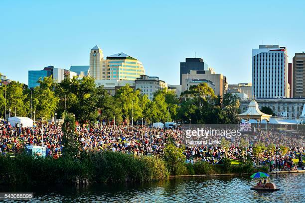 christmas markets  adelaide - adelaide stock pictures, royalty-free photos & images