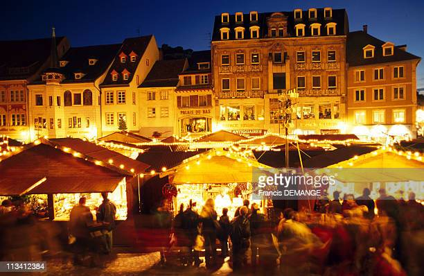 Christmas Markets In Alsace On November 28th 1997 In MulhouseFrance