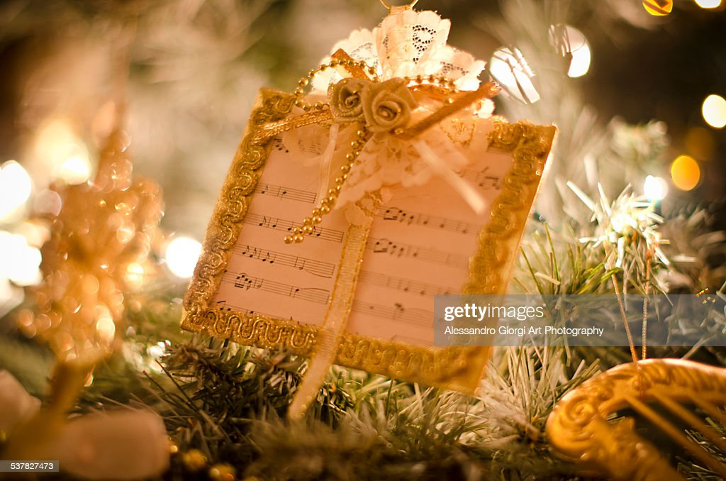 Christmas melodies : Foto stock