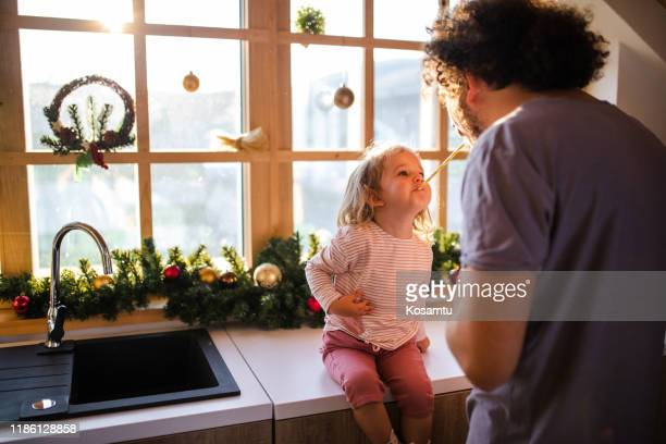 christmas morning - funny wake up stock pictures, royalty-free photos & images