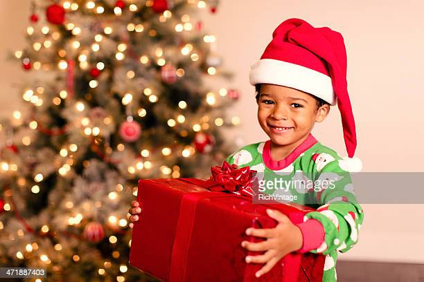 christmas morning - christmas gifts stock photos and pictures