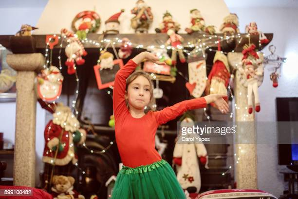 christmas morning - mask dance stock pictures, royalty-free photos & images