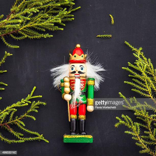 christmas nutcracker - tradition stock pictures, royalty-free photos & images