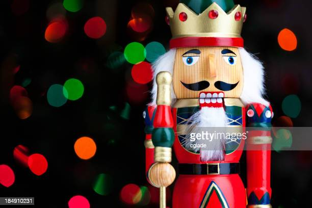 Christmas Nutcracker with Lights