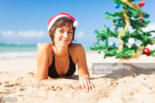 christmas on a beach