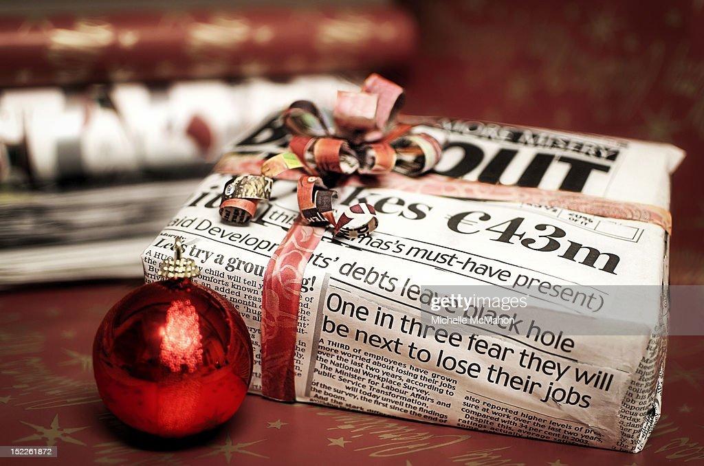 Christmas on budget : Stock Photo
