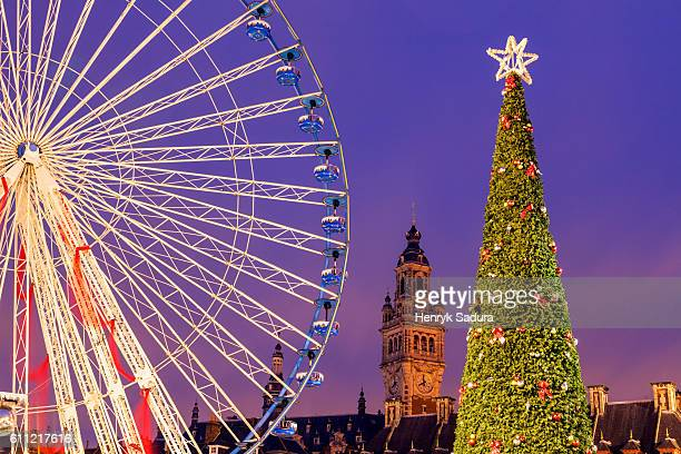 Christmas on General-de-Gaulle Square in Lille