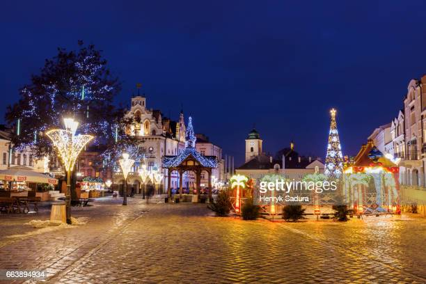 Christmas on Main Square in Rzeszow