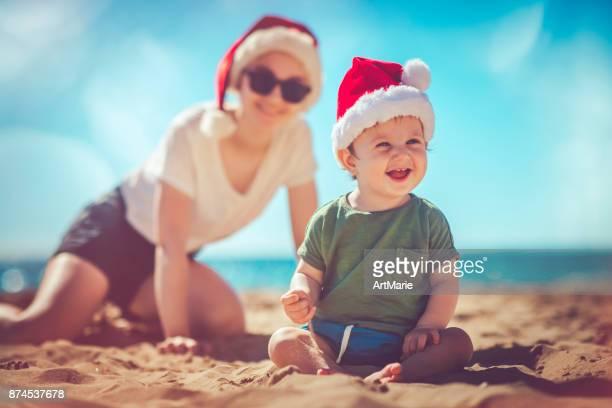 Kerst op het strand