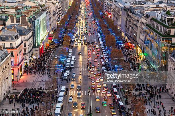 Christmas on the Champs-Elysees