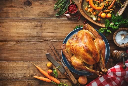 Christmas or Thanksgiving turkey 858959854