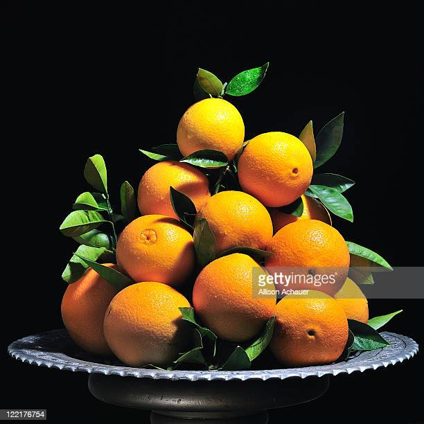 christmas oranges - navel orange stock photos and pictures
