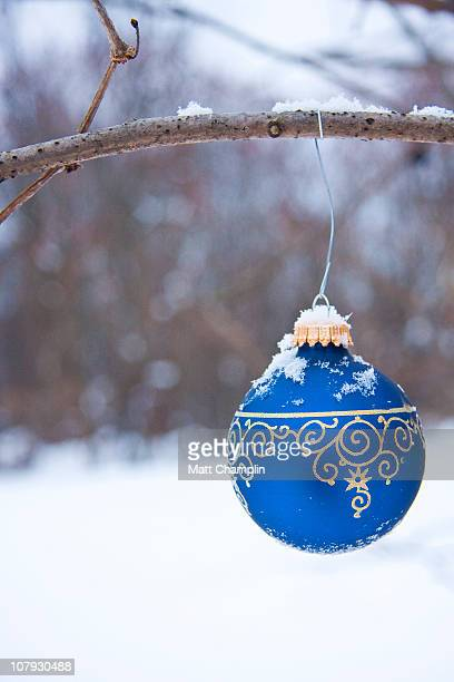 Christmas Ornament Hanging Outside