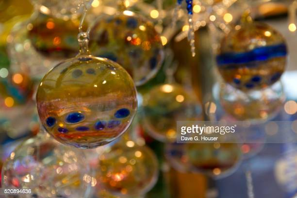 Christmas ornaments, Christmas Market, Passau, Germany