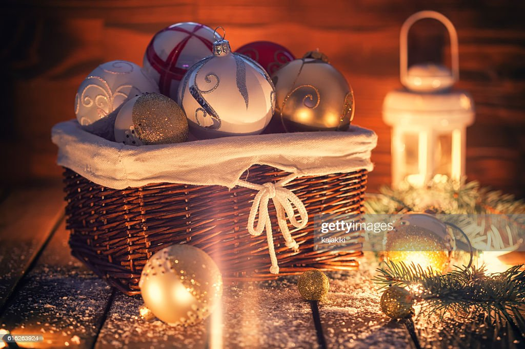 Christmas Ornaments : Stock Photo