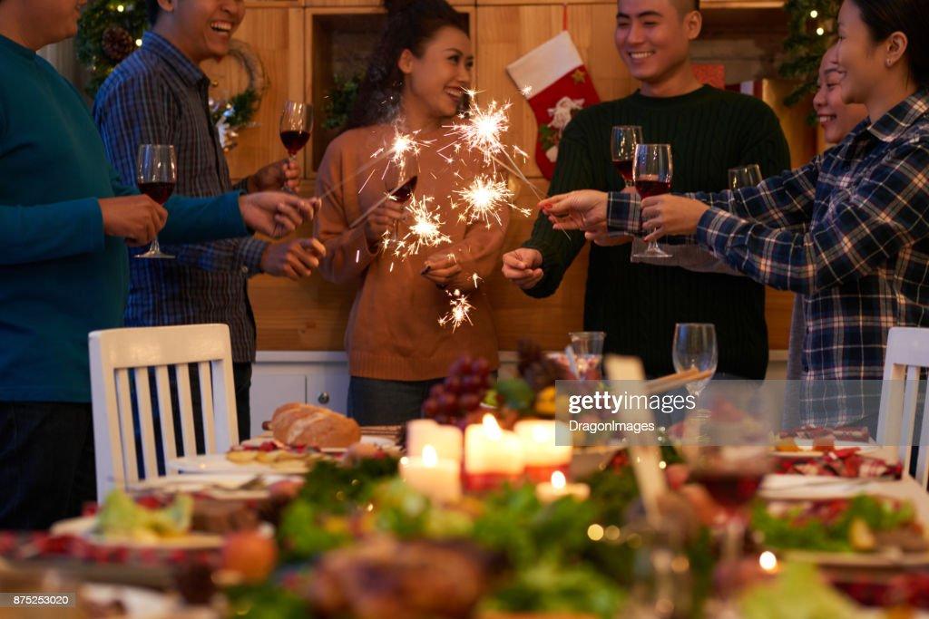 Christmas party : Stock Photo