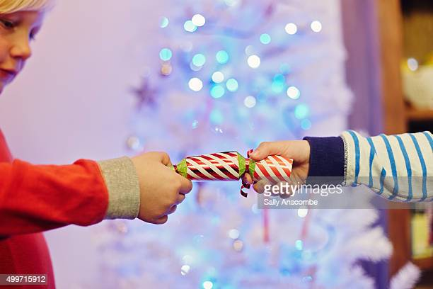 christmas - クリスマスクラッカー ストックフォトと画像