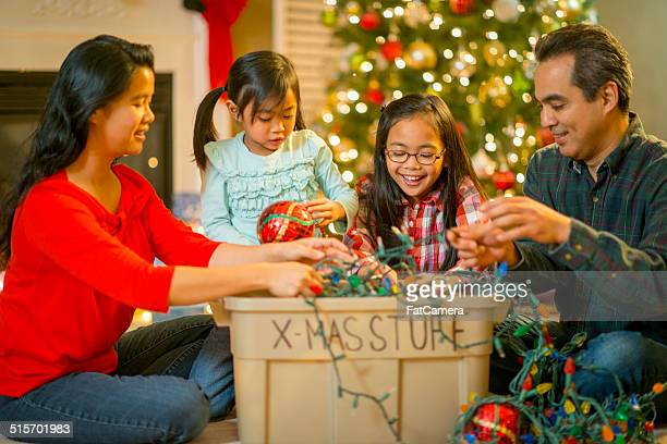 christmas - filipino christmas family stock pictures, royalty-free photos & images