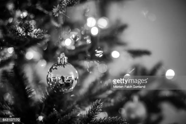 christmas - noel noir et blanc photos et images de collection
