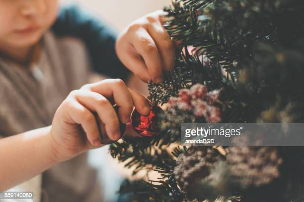 christmas - christmas tree stock pictures, royalty-free photos & images