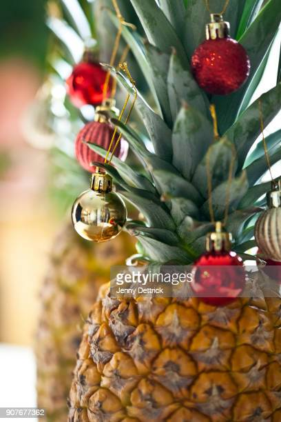 Christmas pineapples