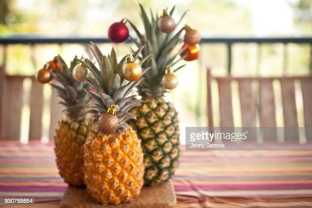 Christmas pineapples