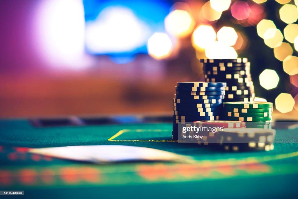 Christmas Poker : Foto de stock