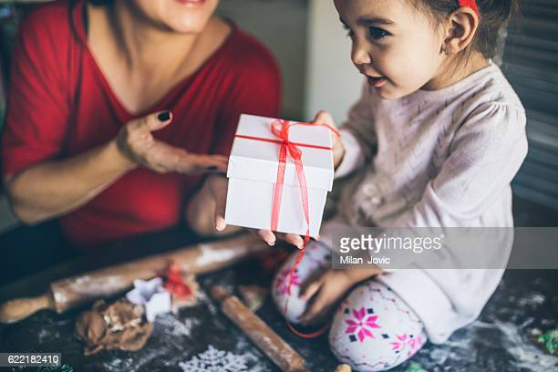 Christmas present time