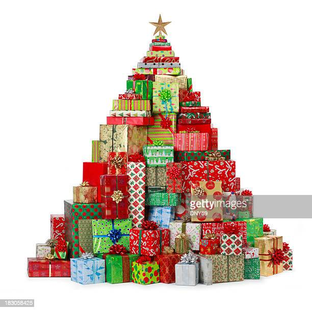 Christmas Present Tree
