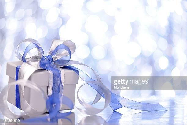 Prenda de Natal com iluminado fundo