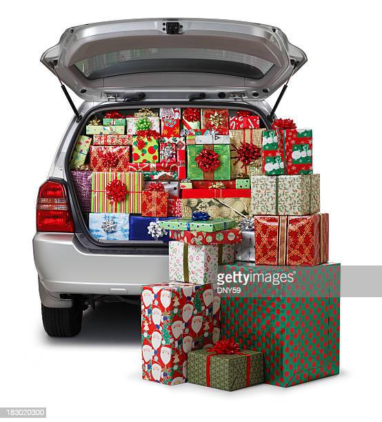 Christmas Presents in Car