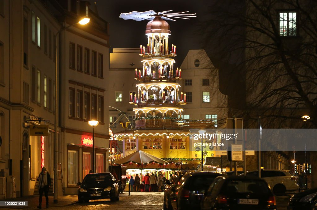 a christmas pyramid reportedly the worlds largest that has earned an entry in the - Worlds Largest Christmas Tree