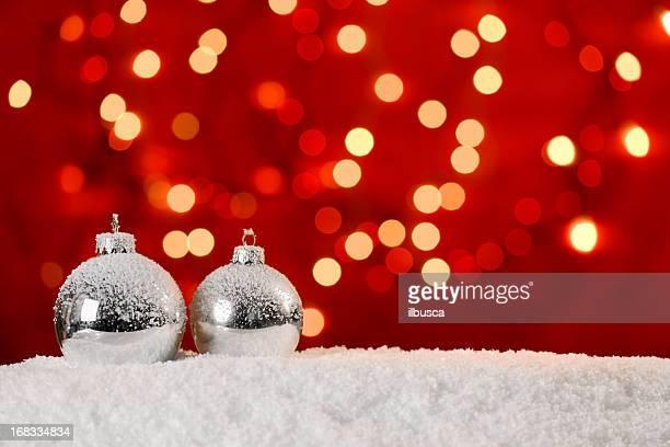 Weihnachten roten Hintergrund mit Textfreiraum
