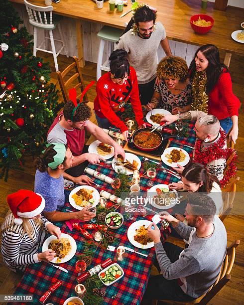Weihnachten Familien- oder Klassentreffen