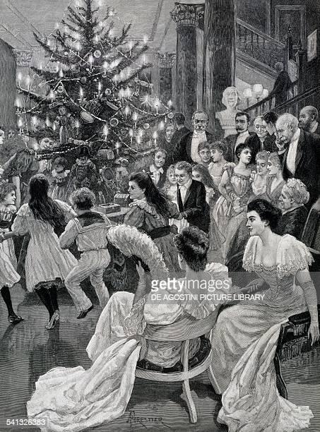 Christmas ringaroundtherosy Illustrated London News United Kingdom 20th century