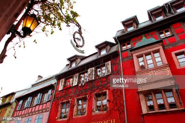 Christmas Riquewihr Riquevire Alsazia Alsace France Europe