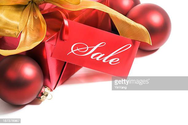 Christmas Sale Retail Shopping Price Tag, Merchandise Label Sign, Ornaments