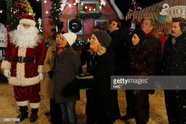 RECREATION Christmas Scandal Episode 212 Air Date Pictured Chris Pratt as Andy Dwyer Rashida Jones as Ann Perkins Amy Poehler as Leslie Knope Aubrey...