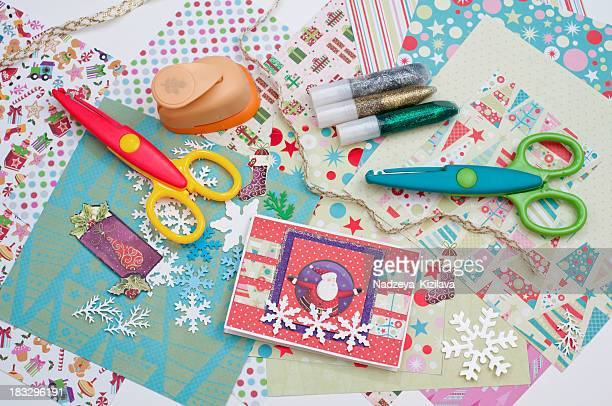 Christmas scrapbooking
