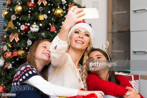 Weihnachten selfie
