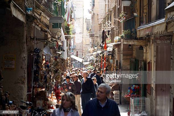 christmas shopping in naples, italy - merry christmas in armenian stock photos and pictures