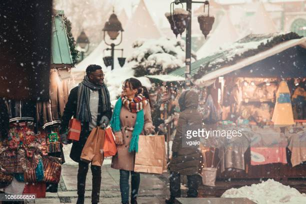 christmas shopping - public celebratory event stock pictures, royalty-free photos & images