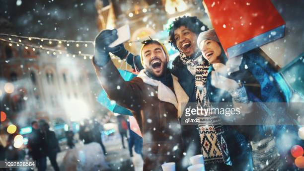 christmas shopping. - retail place stock pictures, royalty-free photos & images