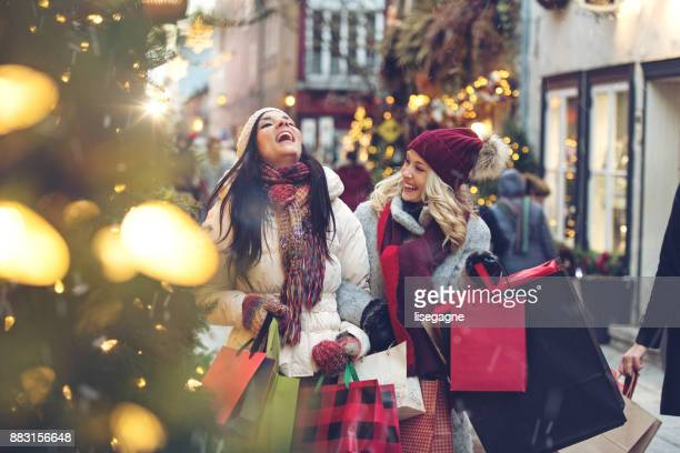 christmas shopping - holiday stock pictures, royalty-free photos & images